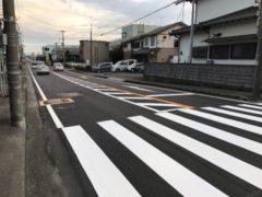 弥生線舗装補修工事
